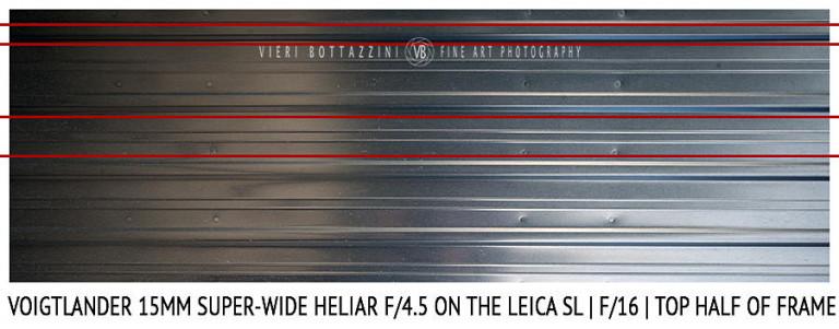 Voigtlander 15mm Super-Wide Heliar f/4.5 v. III | Distortion | f/16