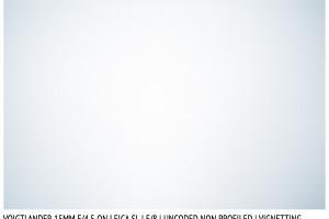 Voigtlander Super Wide-Heliar 15mm III | Vignetting | f/8
