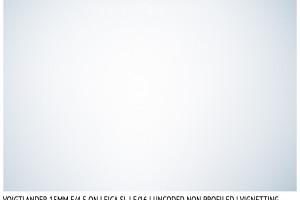 Voigtlander Super Wide-Heliar 15mm III | Vignetting | f/16