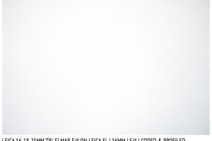 Leica Tri-Elmar 16-18-21mm f/4 | 16mm | Vignetting | f/4