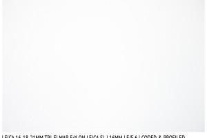 Leica Tri-Elmar 16-18-21mm f/4 | 16mm | Vignetting | f/5.6