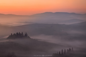 Podere Belvedere, Val d'Orcia (Italy, 2017)
