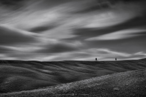 Val d'Orcia's cypresses (Italy, 2017)