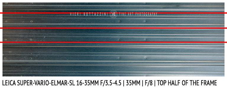 Leica Super-Vario-Elmar-SL 16-35mm | 35mm | Distortion | f/8