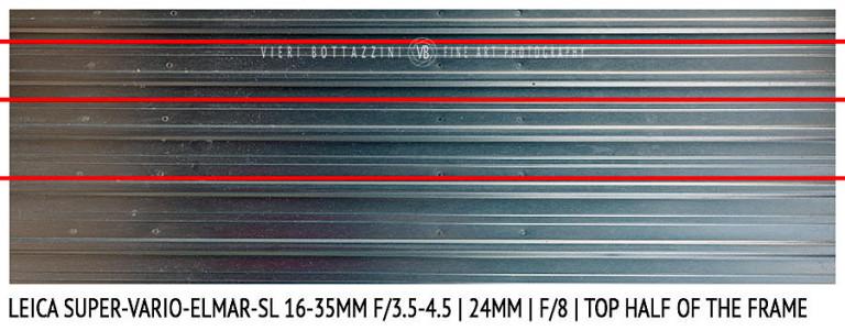 Leica Super-Vario-Elmar-SL 16-35mm | 24mm | Distortion | f/8
