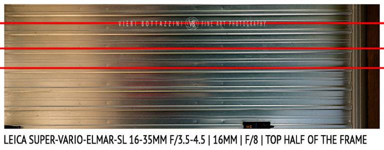 Leica Super-Vario-Elmar-SL 16-35mm | 16mm | Distortion | f/8