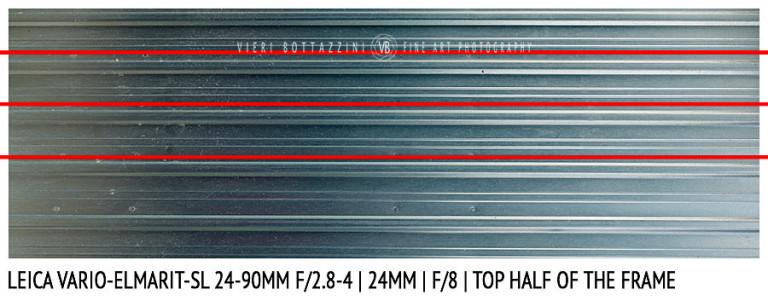 Leica Vario-Elmarit-SL 24-90mm | 24mm | Distortion | f/8