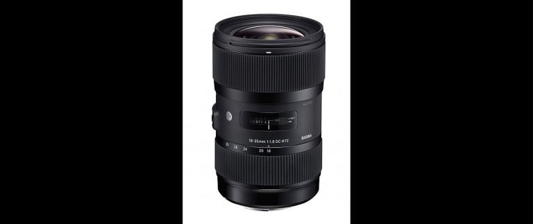 Sigma 18-35mm f/1.8 DC