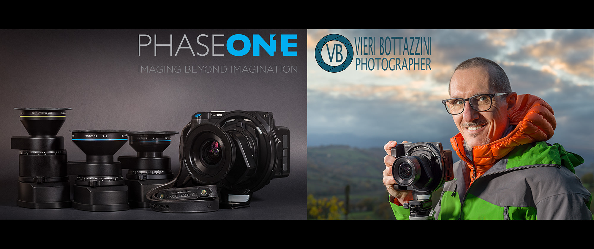 Vieri Bottazzini is a proud PhaseOne Local Ambassador