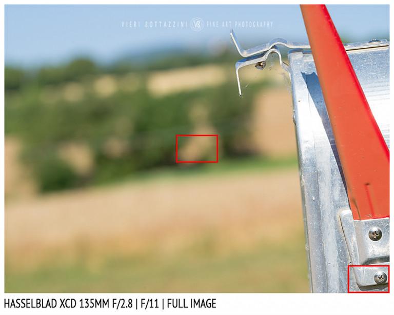 Hasselblad XCD 135mm | Close Focus | Full Image | f/11