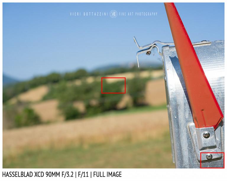 Hasselblad XCD 90mm | Close Focus | Full Image | f/11