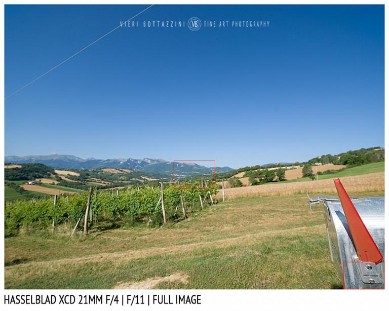 Hasselblad XCD 21mm | Close Focus | Full Image | f/11