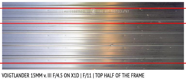 Voigtlander 15mm Super-Wide Heliar f/4.5 v. III | Distortion | f/11
