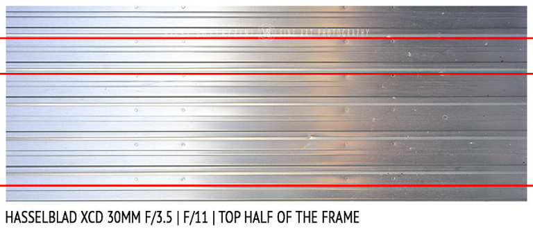 Hasselblad XCD 30mm | Distortion | f/11