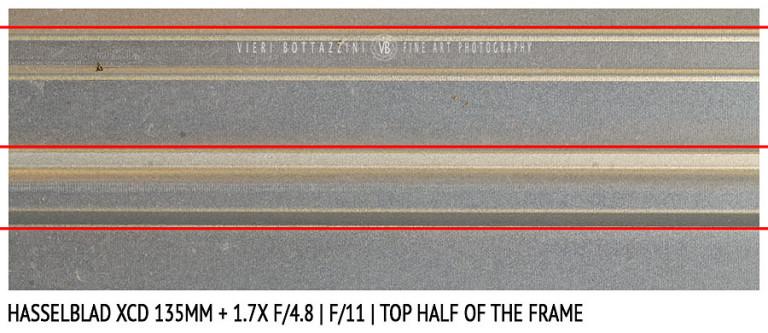Hasselblad XCD 135mm + 1.7x | Distortion | f/11
