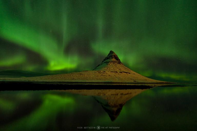 Northern Lights over Kirkjufells (Iceland, 2019)