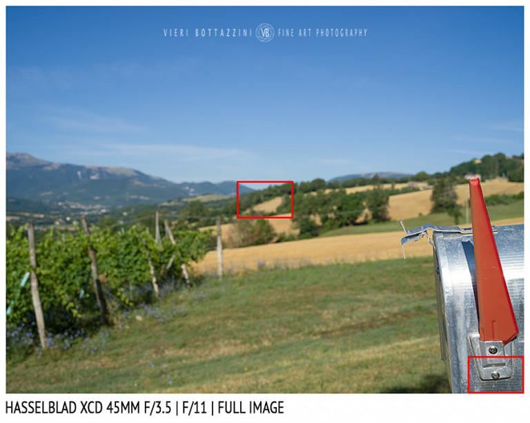 Hasselblad XCD 45mm | Close Focus | Full Image | f/11