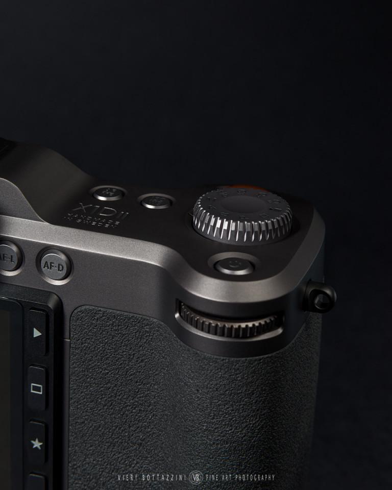 Hasselblad X1D II, detail