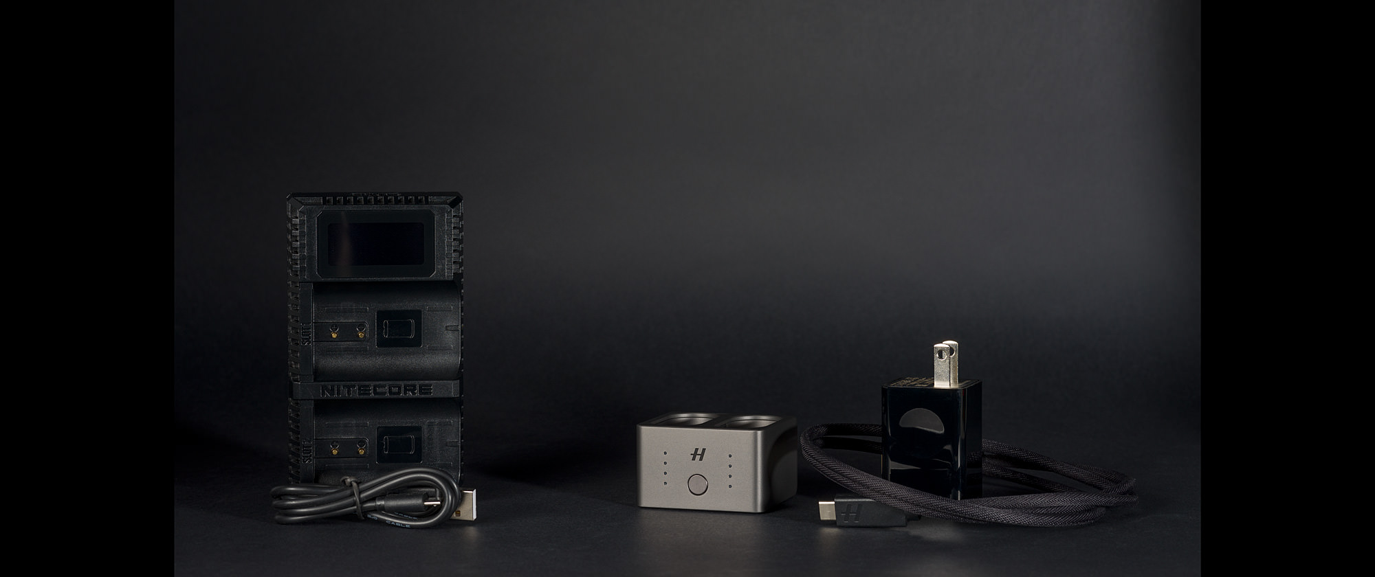 Nitecore & Hasselblad Dual Charger for Hasselblad X1D