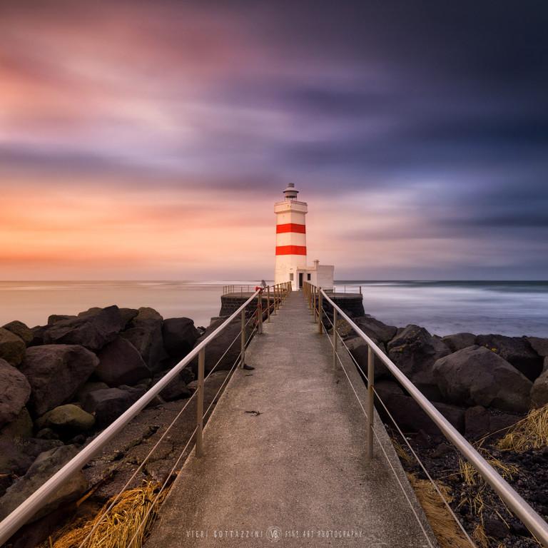Gardur Lighthouse (Iceland, 2020)