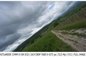 Voigtlander 15mm Super-Wide Heliar f/4.5 v. III | Infinity | Full Image | 16:9 Crop | f/11