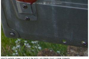 Voigtlander 15mm Super-Wide Heliar f/4.5 v. III | Close Focus | Corner | f/4.5