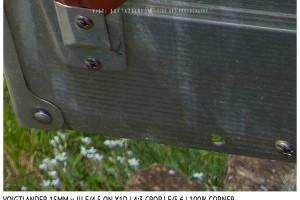 Voigtlander 15mm Super-Wide Heliar f/4.5 v. III | Close Focus | Corner | f/5.6