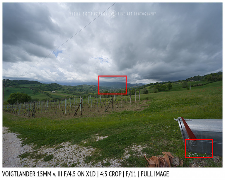 Voigtlander 15mm Super-Wide Heliar f/4.5 v. III | Close Focus | Full Image | f/11