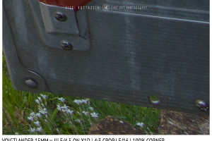 Voigtlander 15mm Super-Wide Heliar f/4.5 v. III | Close Focus | Corner | f/16
