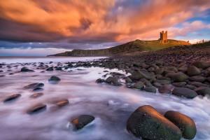 Dunstanburgh Castle, Northumberland (UK, 2020)