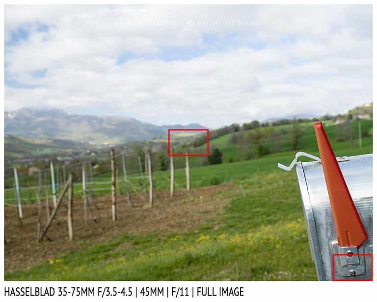 Hasselblad XCD 35-75mm | 45mm | Close Focus | Full Image | f/11
