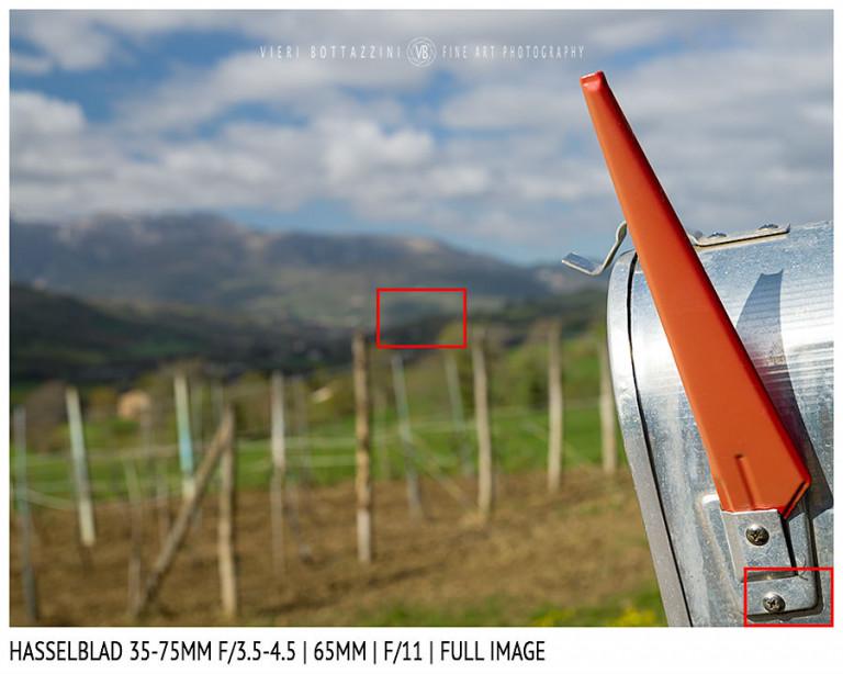 Hasselblad XCD 35-75mm | 65mm | Close Focus | Full Image | f/11