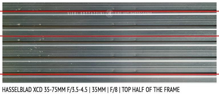 Hasselblad XCD 35-75mm | 35mm | Distortion | f/8