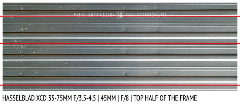 Hasselblad XCD 35-75mm | 45mm | Distortion | f/8