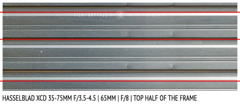 Hasselblad XCD 35-75mm | 65mm | Distortion | f/8