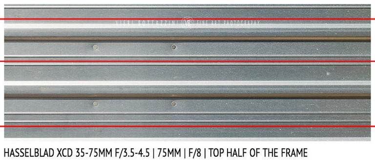 Hasselblad XCD 35-75mm | 75mm | Distortion | f/8