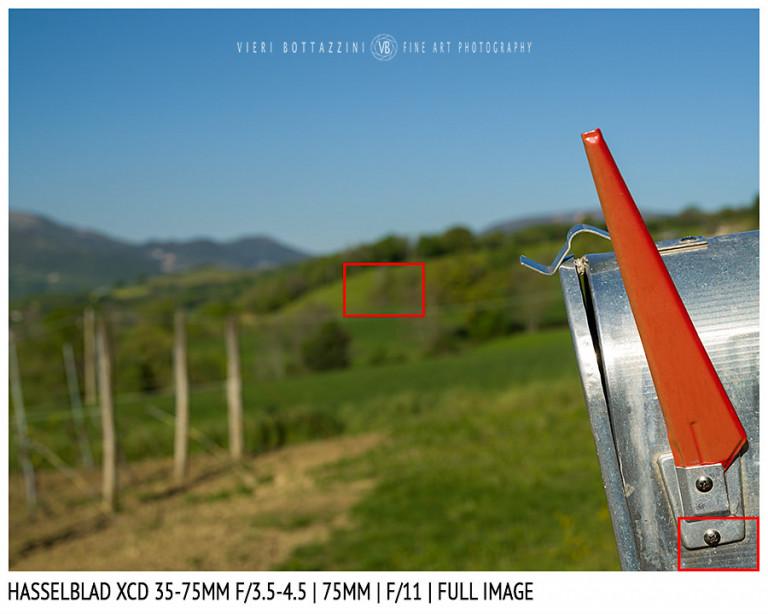 Hasselblad XCD 35-75mm | 75mm | Close Focus | Full Image | f/11