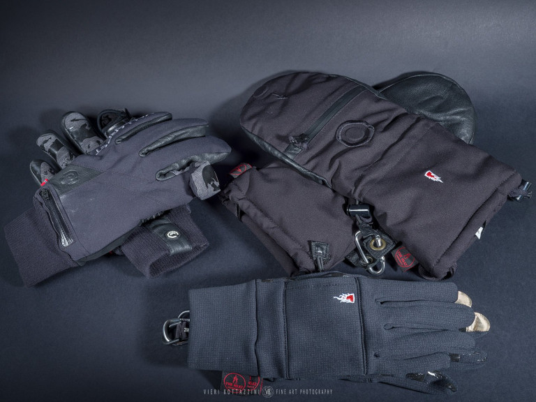The Heat Company Shell, Wind Pro Liner and the Valleret gloves
