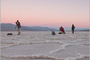 Working in Death Valley, 2017