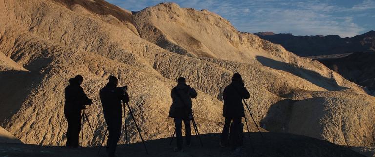Working in Death Valley
