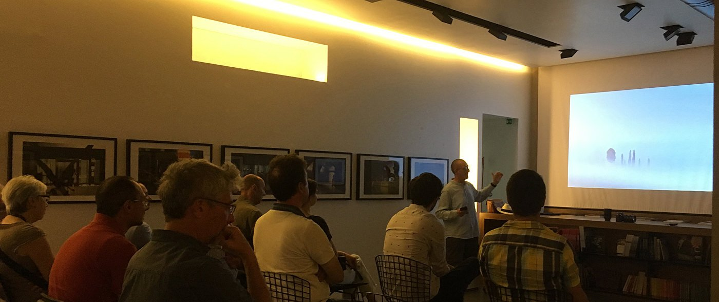 Vieri lecturing for Leica Italy